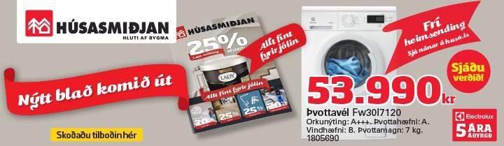 Húsasmiðjan – almenn auglýsing