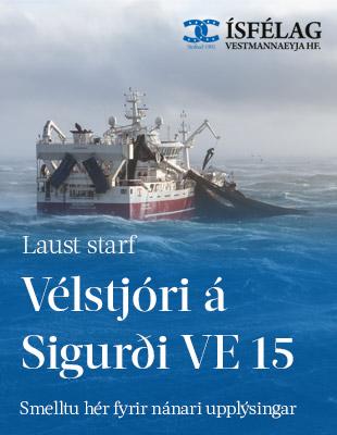 Ísfélag atvinna Sigurður