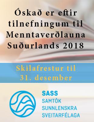 Menntaverðlaun SASS