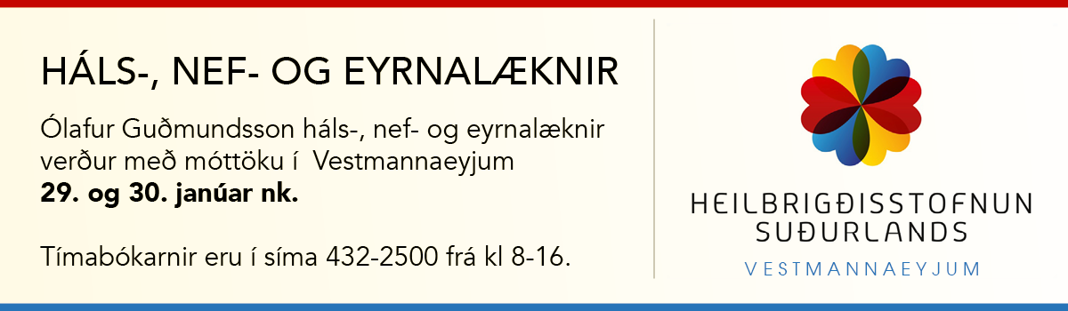 Háls-, nef- og eyrnalæknir