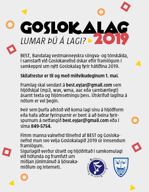 Vey – Goslokalag2019