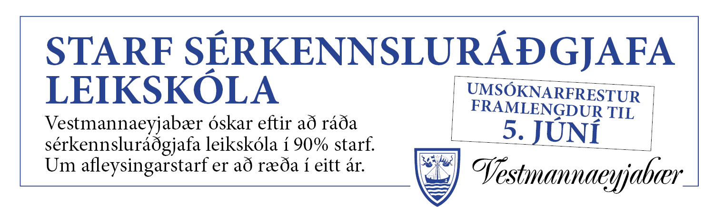 VEY- Starf sérkennsluráðgjafa leikskóla