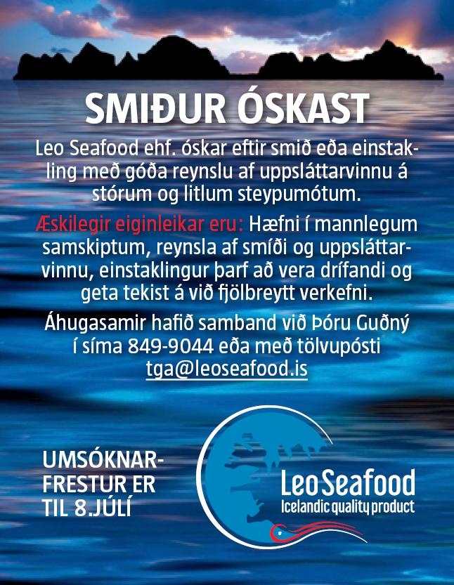 Leo seafood – smiður