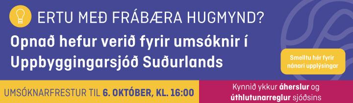 Uppbyggingasjóður 2020