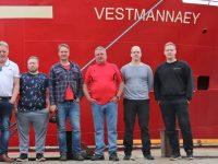 Ný Vestmannaey á heimleið